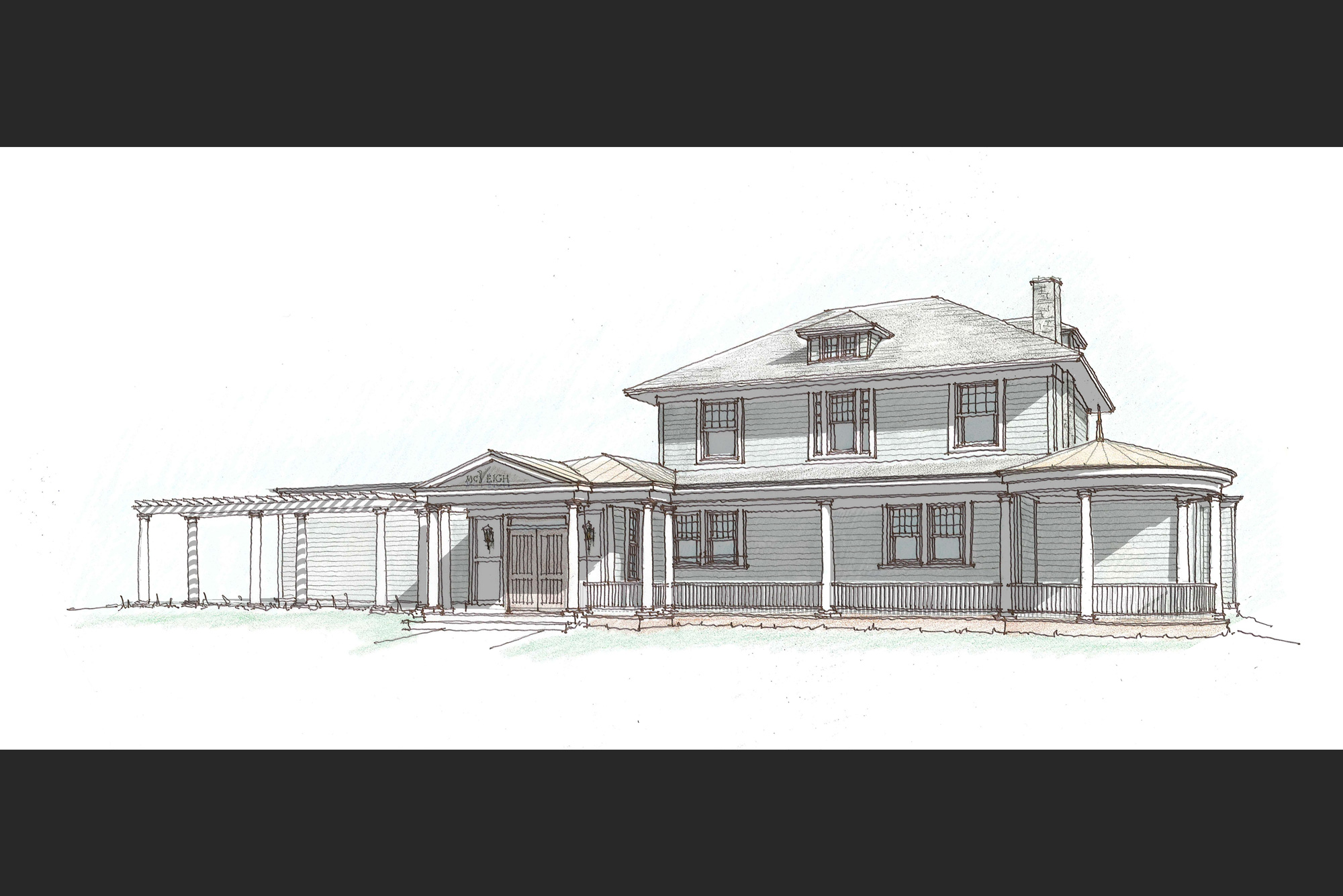 Funeral home architecture albany ny balzer and tuck for Funeral home building plans