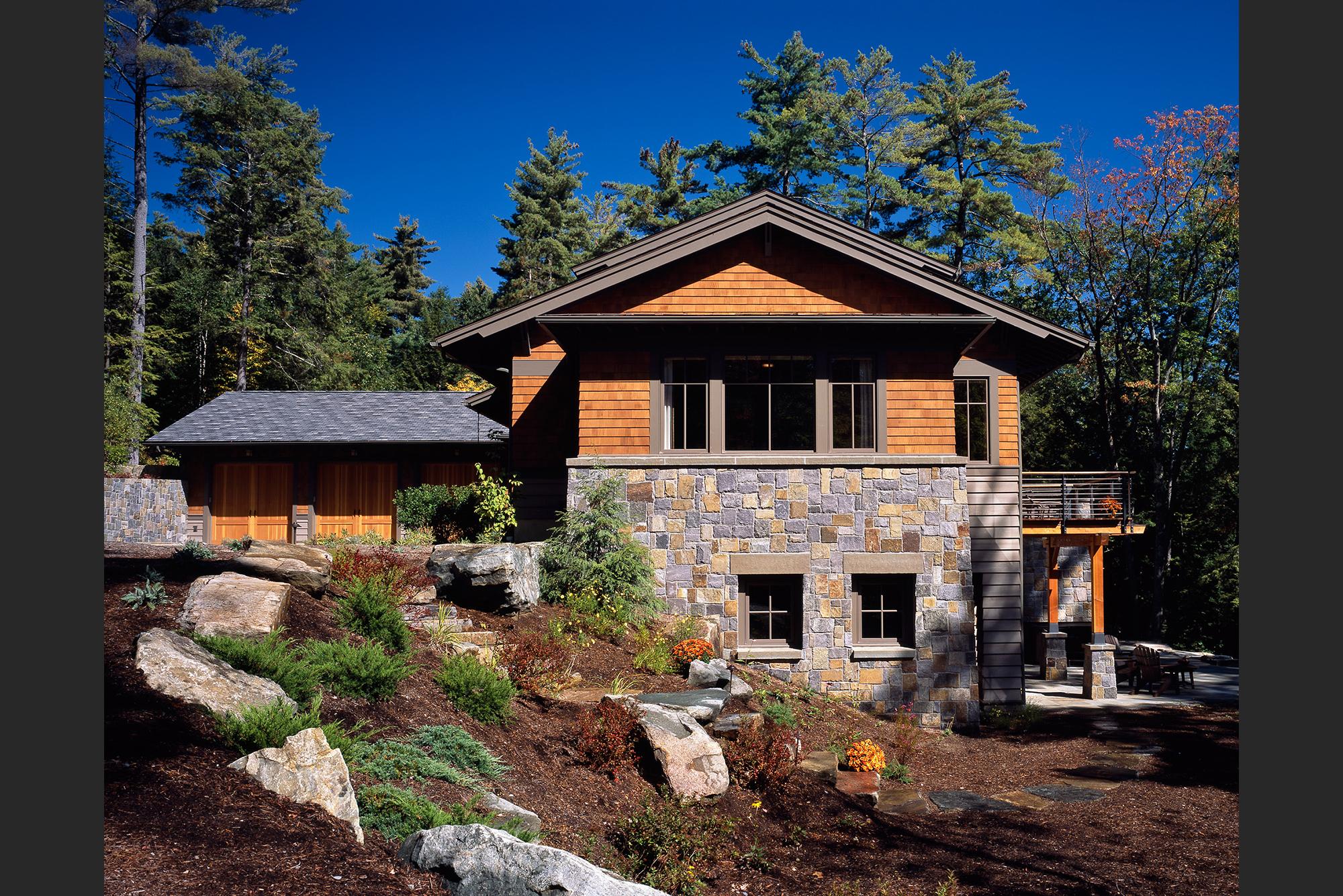 Lake George Custom Home Design